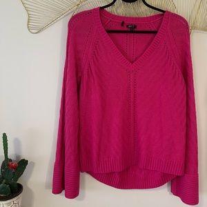 Buffalo by David Bitton Pink V Neck Sweater